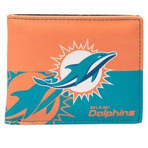 NFL Miami Dolphins Bi-Fold Wallet